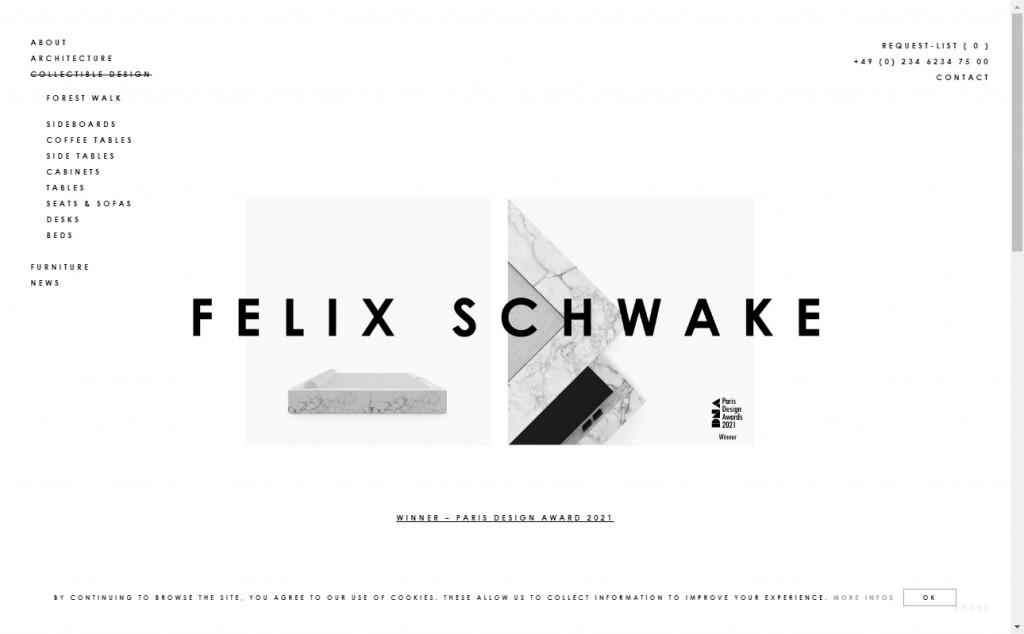 Beautifully Designed Light Websites 31