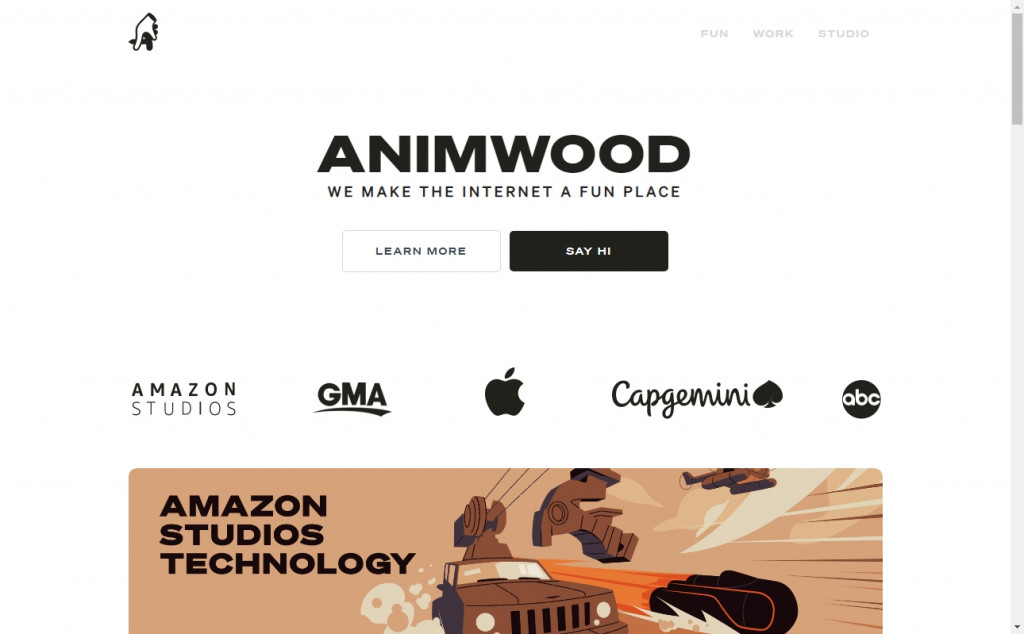 White and Gold Website Designs with Wonderful Color Techniques 22