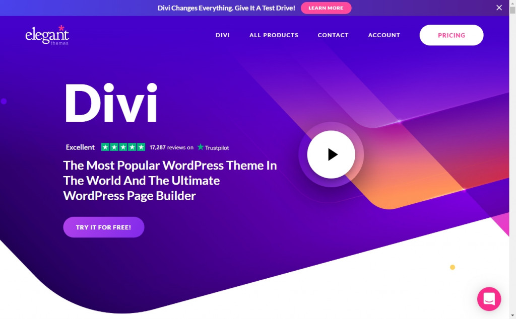 Wonderful Blue and Purple Web Page Designs for Inspiration 22