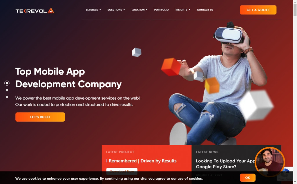 Black and Red Color Web Site Design Inspirations 22