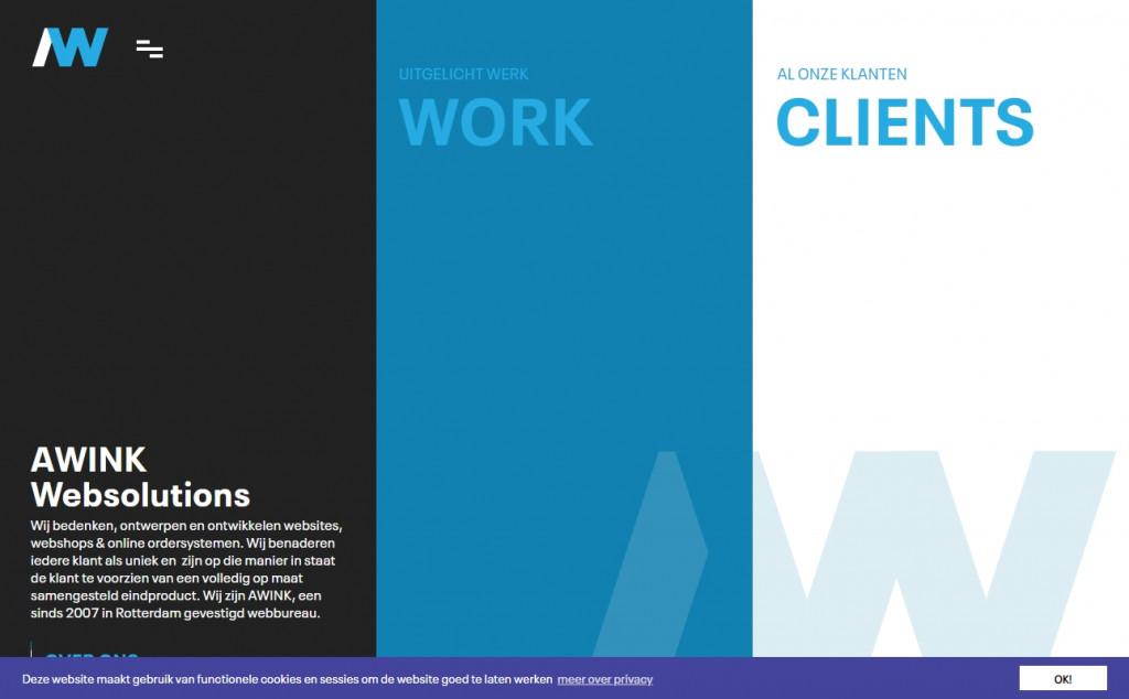 Dark Blue Color Website Design Inspirations 22