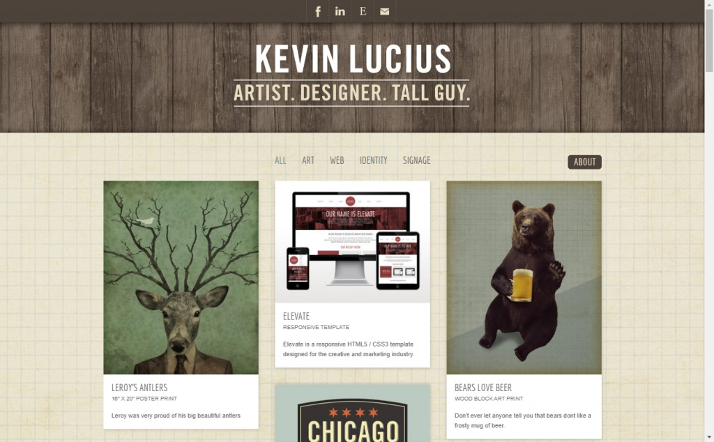 Chocolate Website Designs with Great Color Strategies 23