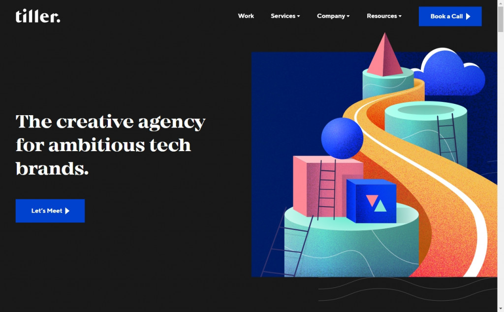 12 Beautifully Designed Blue Websites 19