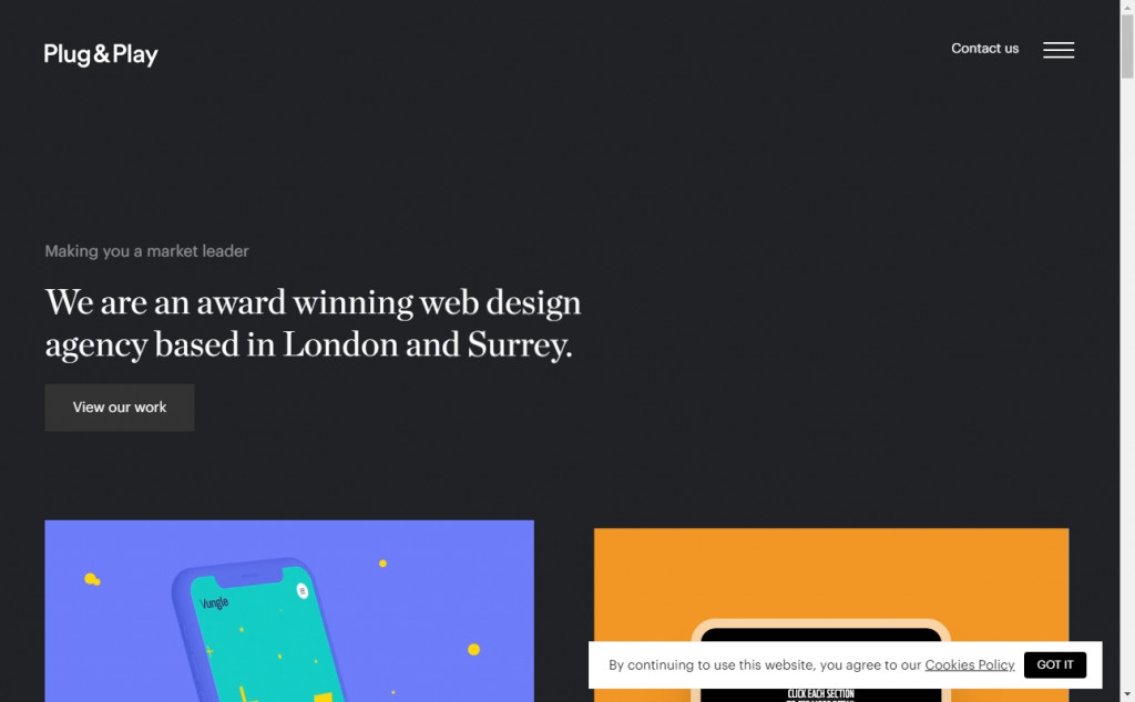 Blue and Yellow Web Designs To Inspire You 21