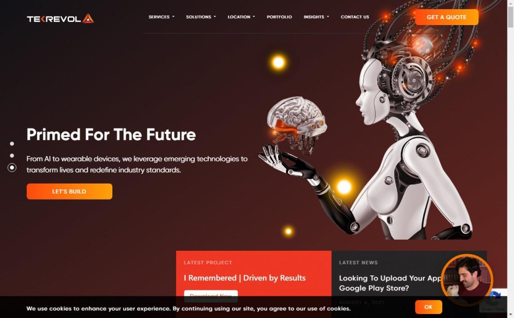 11 Beautifully Designed Black and Orange Websites 22