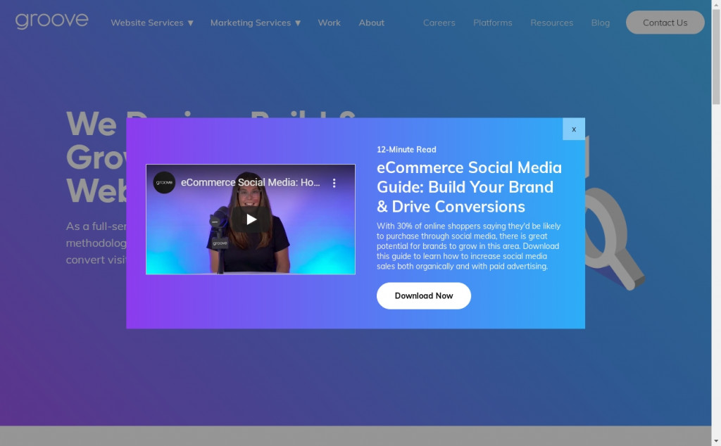 Wonderful Blue and Purple Web Page Designs for Inspiration 24