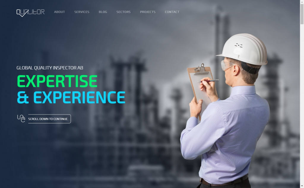 Blue and Green Web Page Design Inspirations 22
