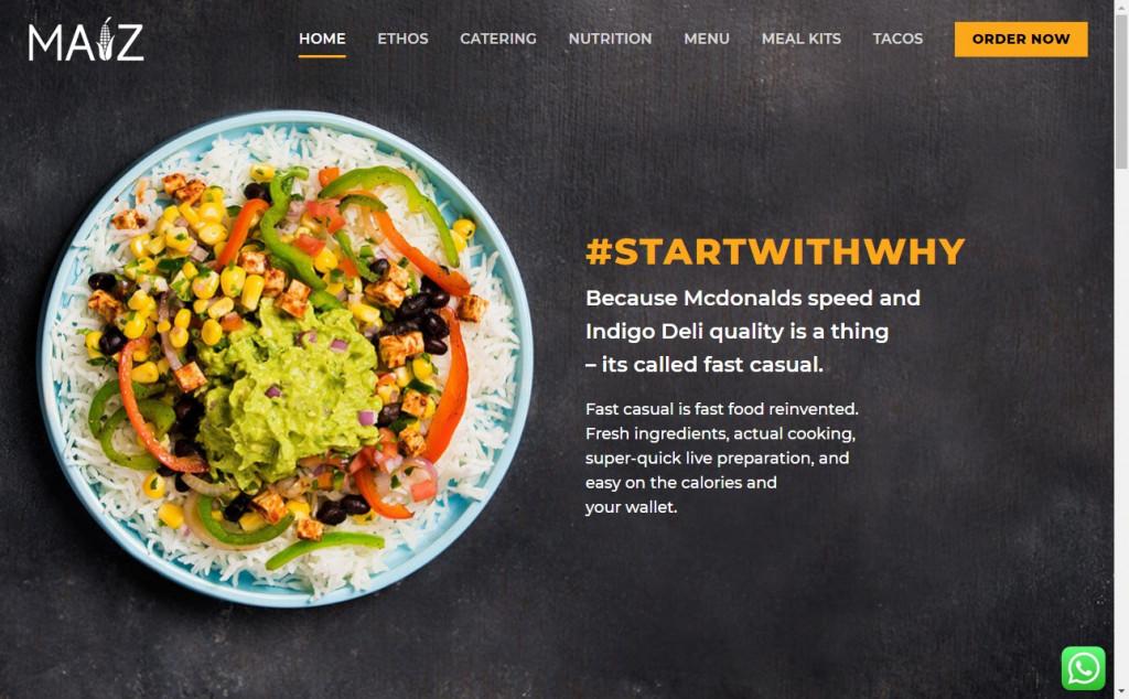 11 Beautifully Designed Black and Orange Websites 23