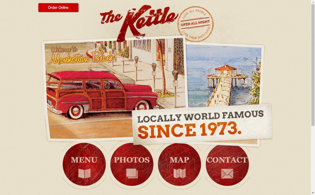 Chocolate Website Designs with Great Color Strategies 25