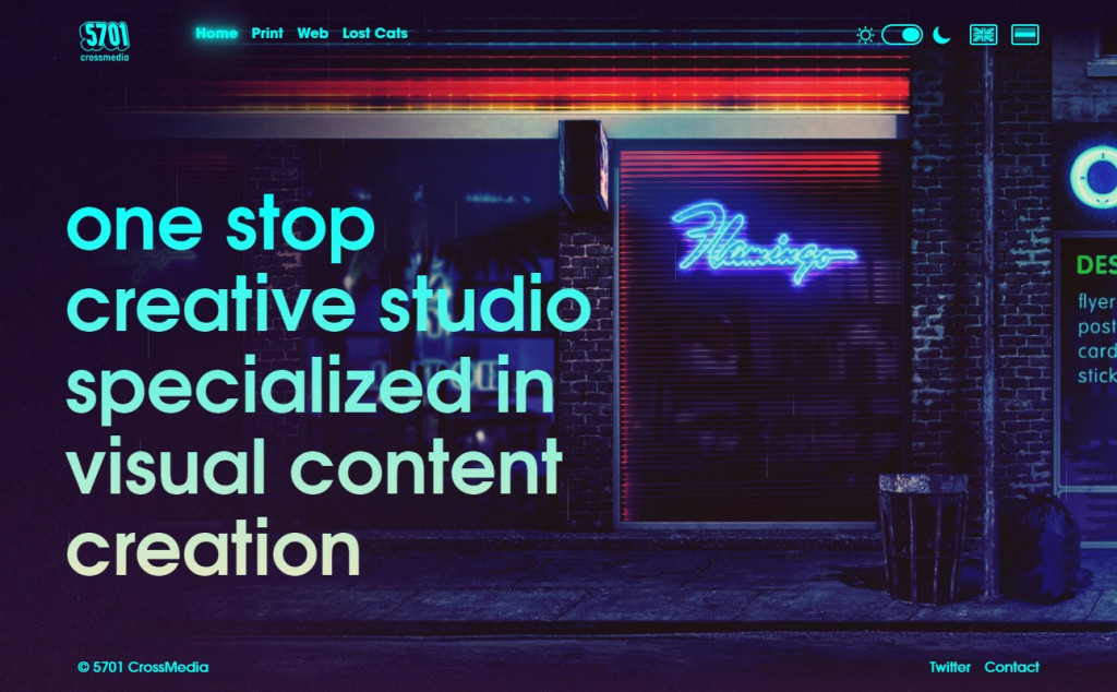 Blue and Red Color Website Design Inspirations 24