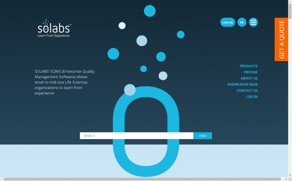 White and Blue Website Design Inspirations 25
