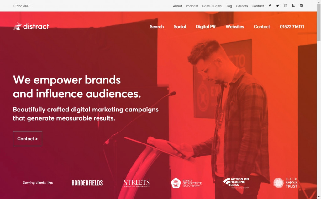 Red and Yellow Color Web Page Design Inspirations 25
