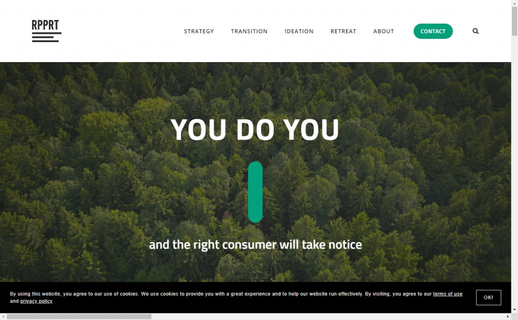 Blue and Green Web Page Design Inspirations 23