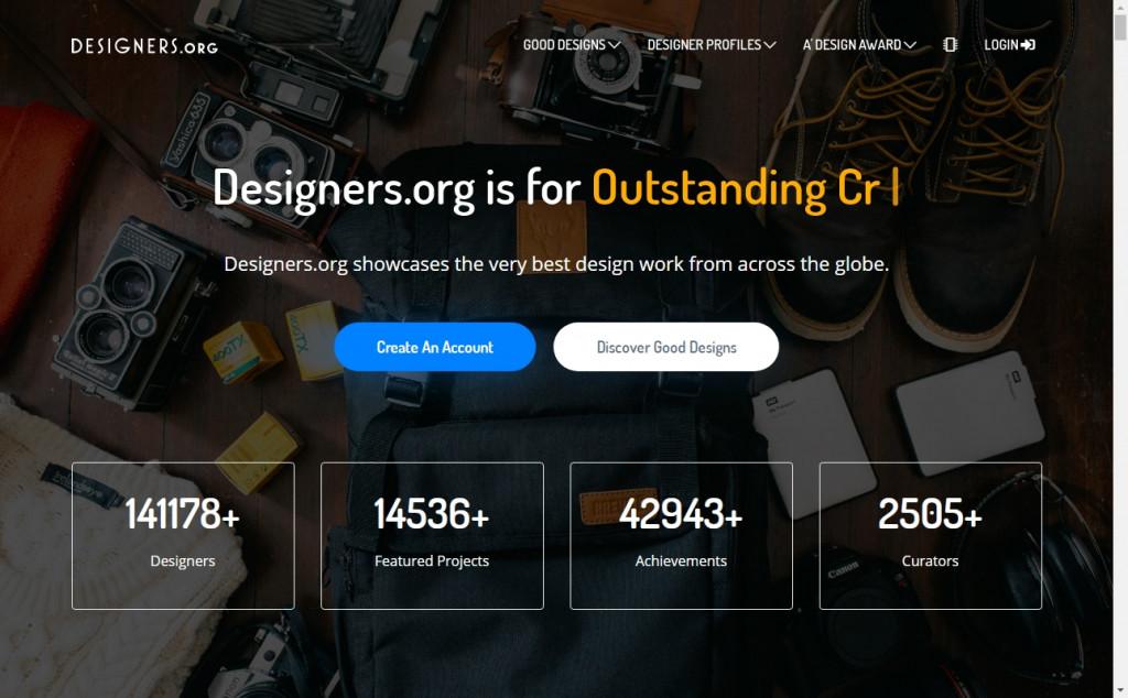 11 Beautifully Designed Black and Orange Websites 24