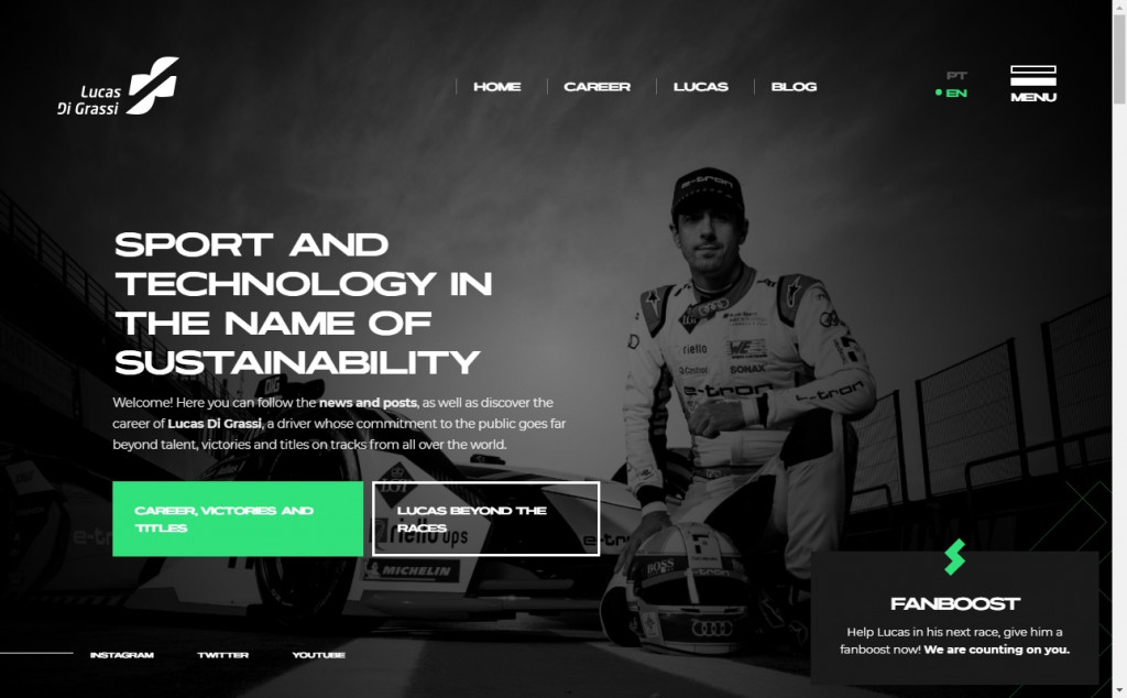 20 Beautiful Green Web Designs for Inspiration 24