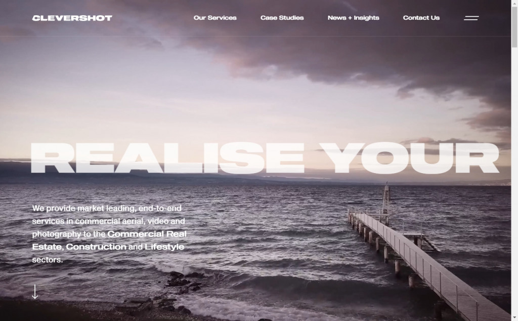 The Best Dark Websites with Awesome Color Techniques 21