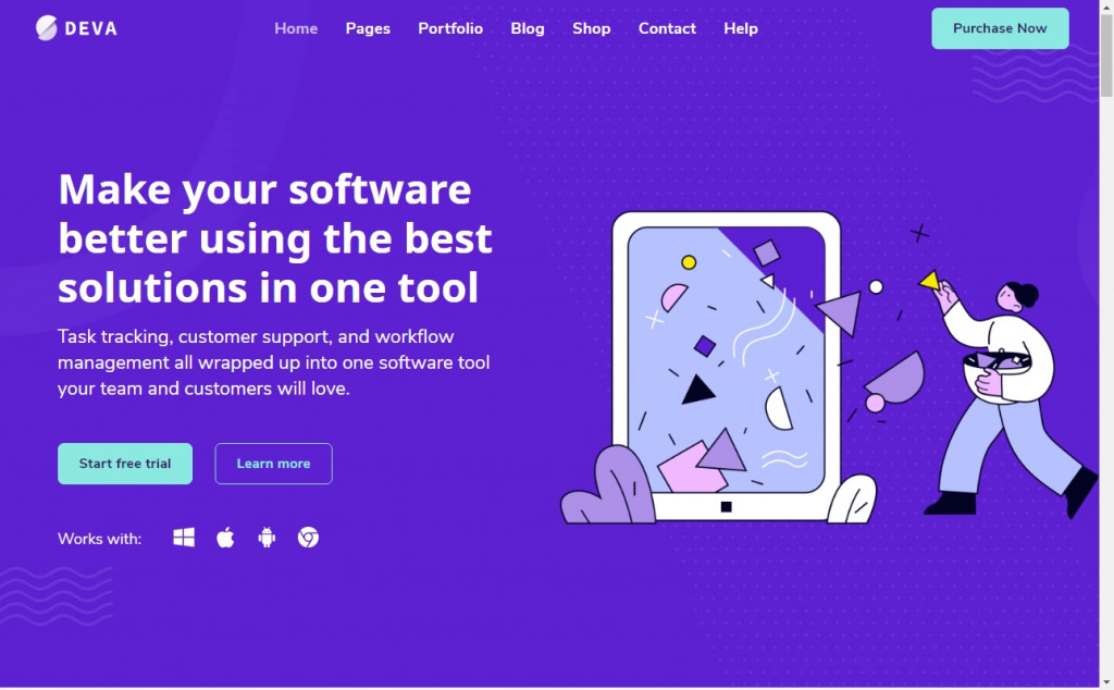 Purple Website Designs with Amazing Color Strategies 26