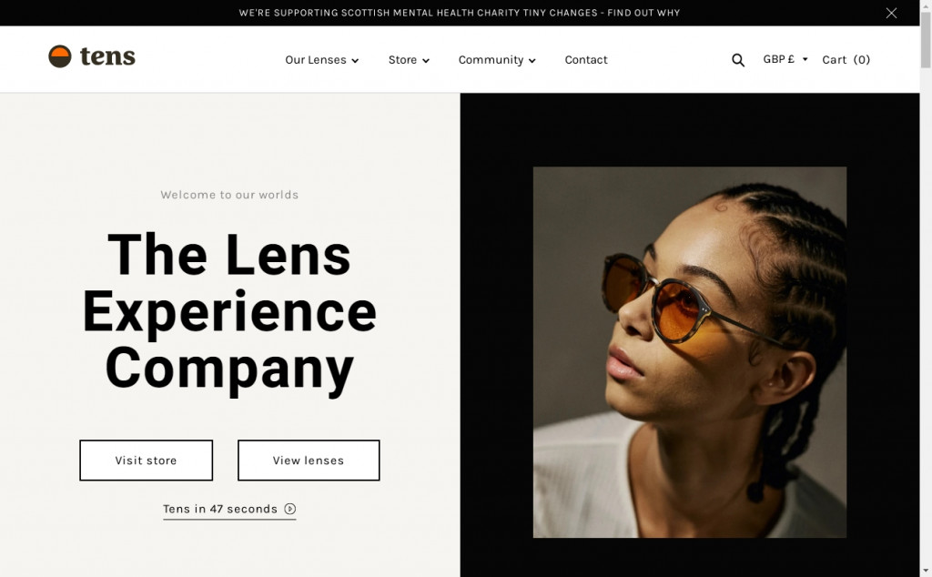 Beautifully Designed Light Websites 20