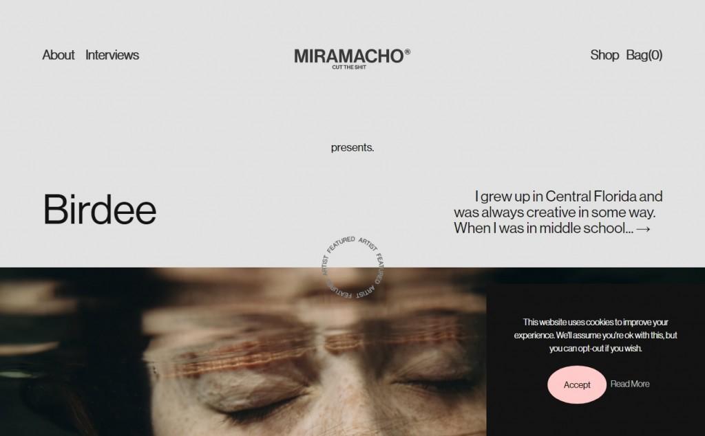 Gorgeous Black Web Designs for Inspiration 20