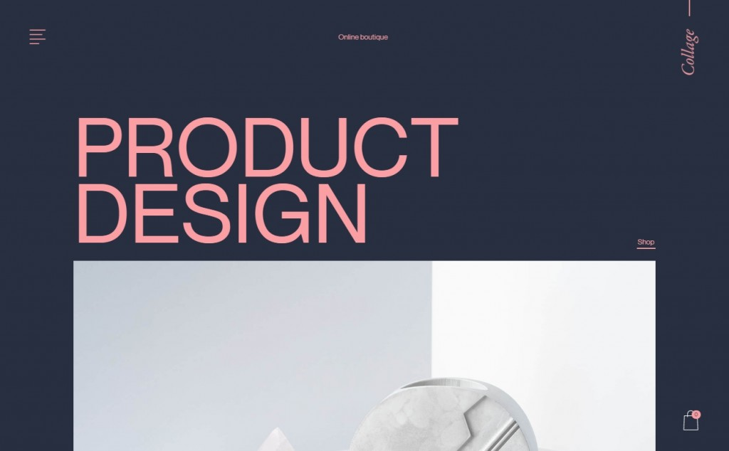 Hot Pink Web Page Design Inspirations 23