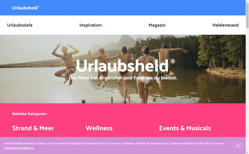 Blue and Red Color Website Design Inspirations 25