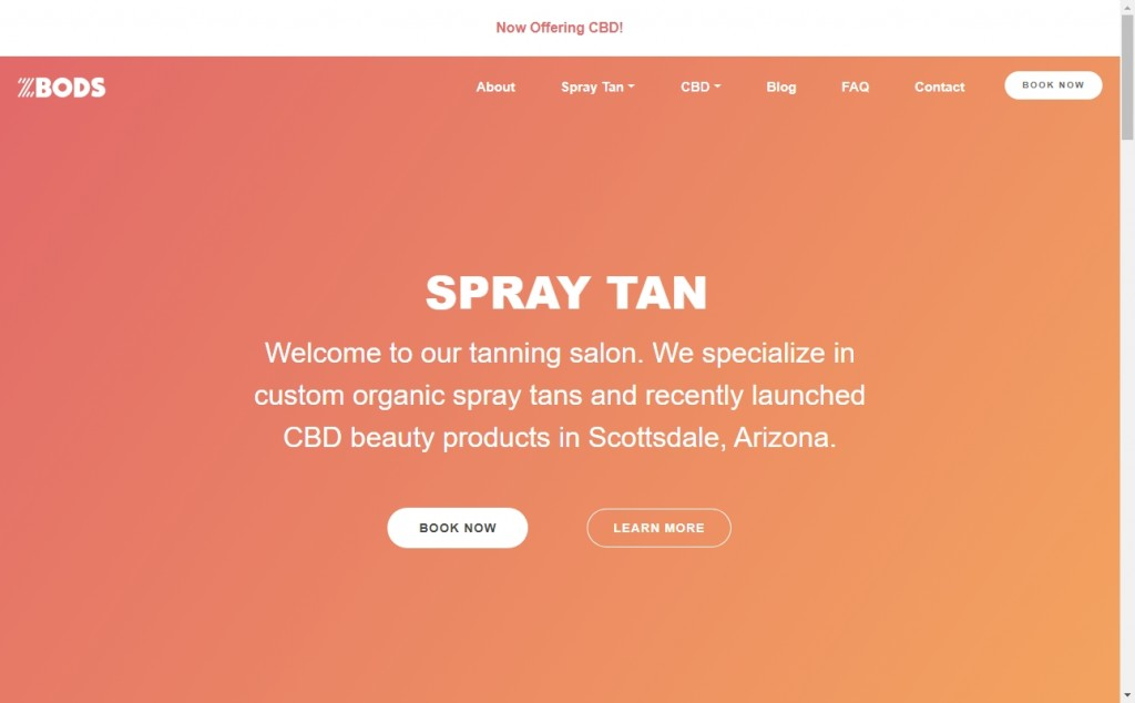 Red and Yellow Color Web Page Design Inspirations 26