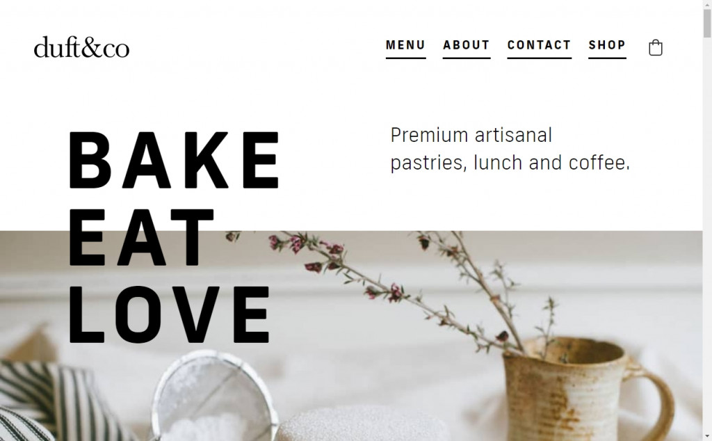 White and Gold Website Designs with Wonderful Color Techniques 26