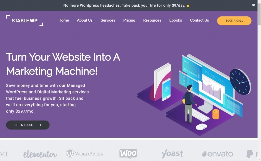 Wonderful Blue and Purple Web Page Designs for Inspiration 25