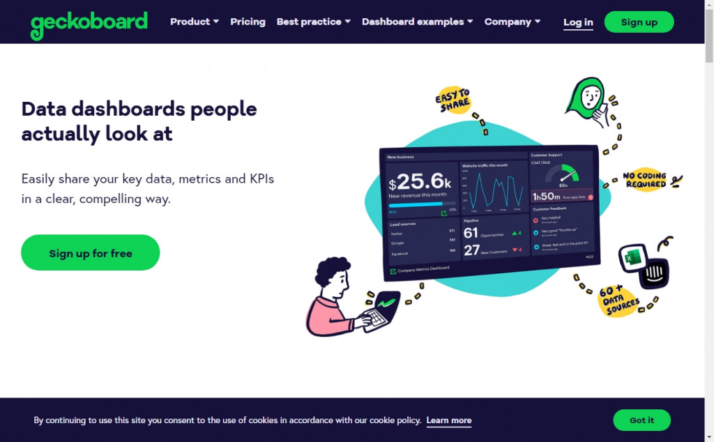 Blue and Green Web Page Design Inspirations 24