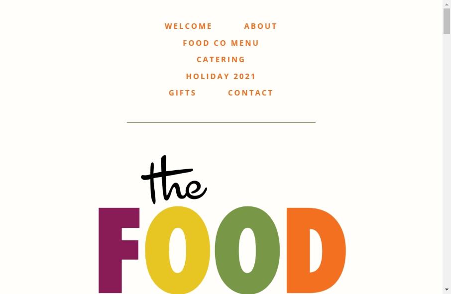 Food Website Design 17