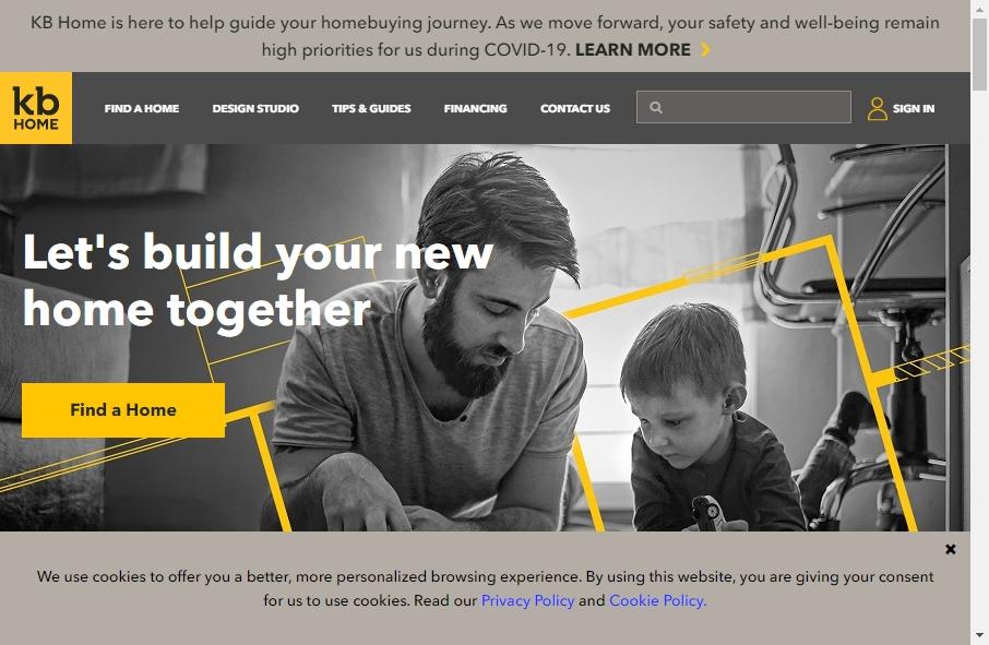 Home Builder Websites Examples 17