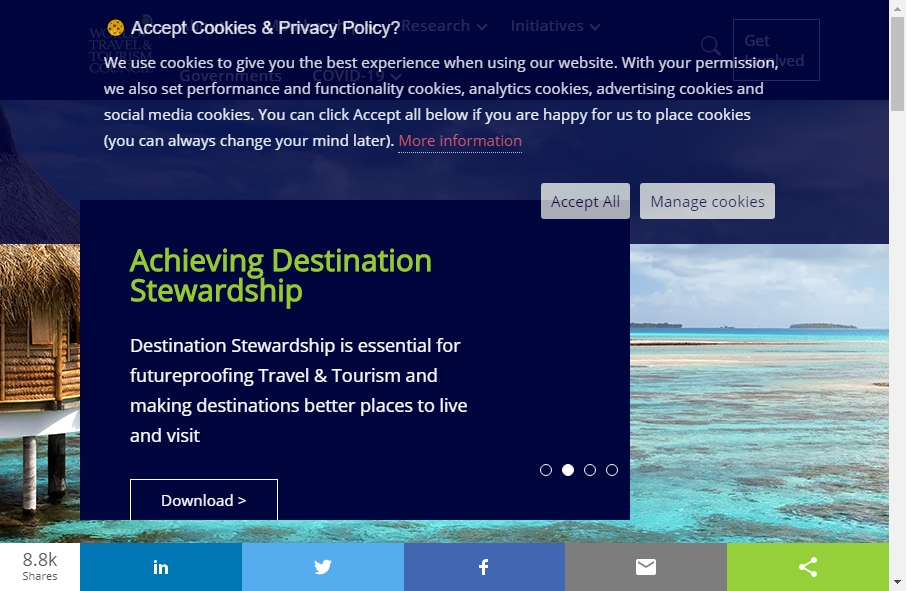 17 Examples of Tourism Websites With Fantastic Designs 17