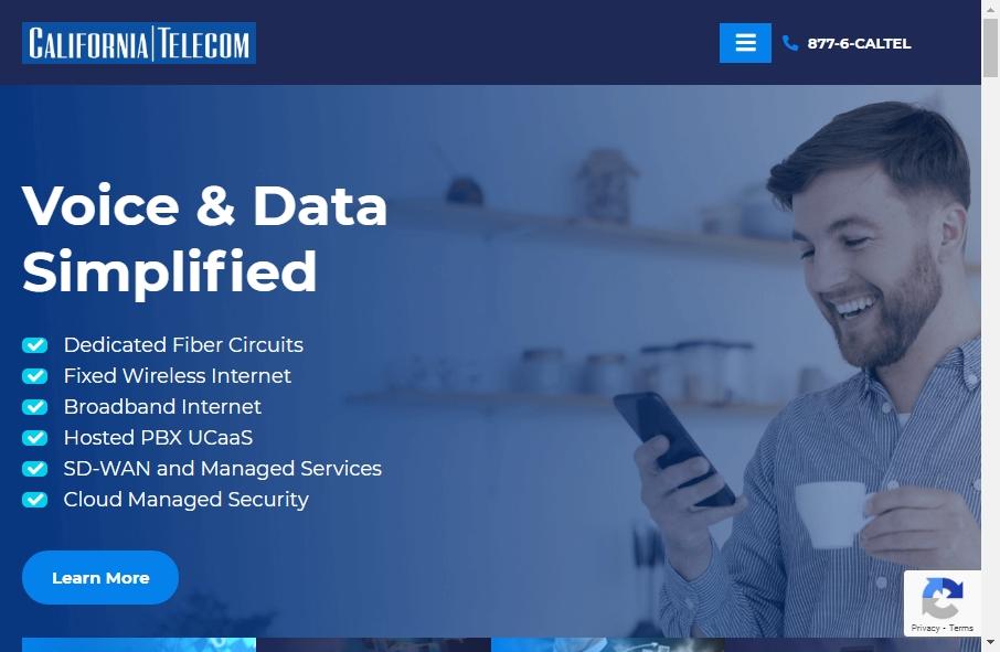 Telecom Website Design 17