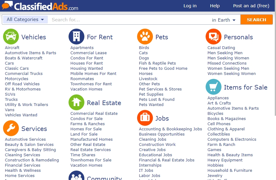 12 Amazing Classified ads Website Design Examples in 2021 17