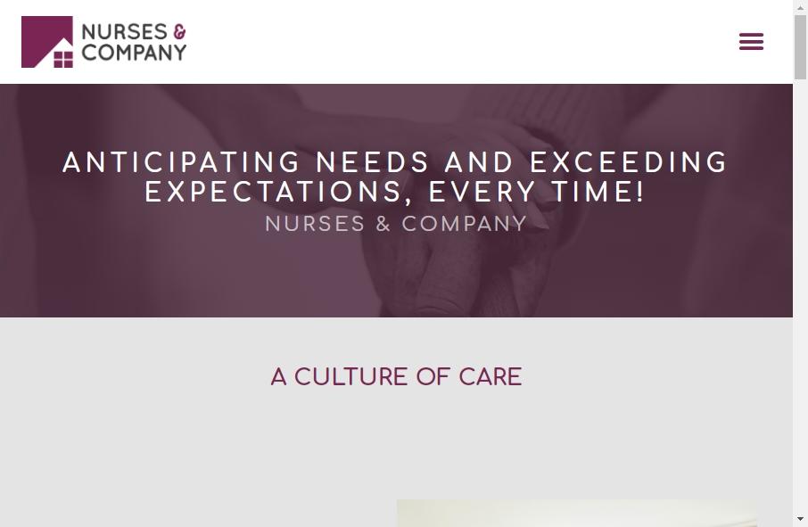 10 Amazing Nurses Website Design Examples in 2021 17