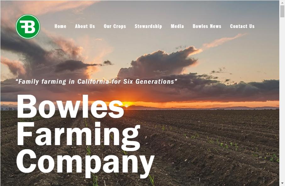 14 Amazing Farming Website Design Examples in 2021 17