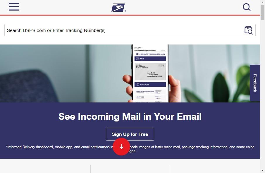 13 Great Postal Website Examples 17