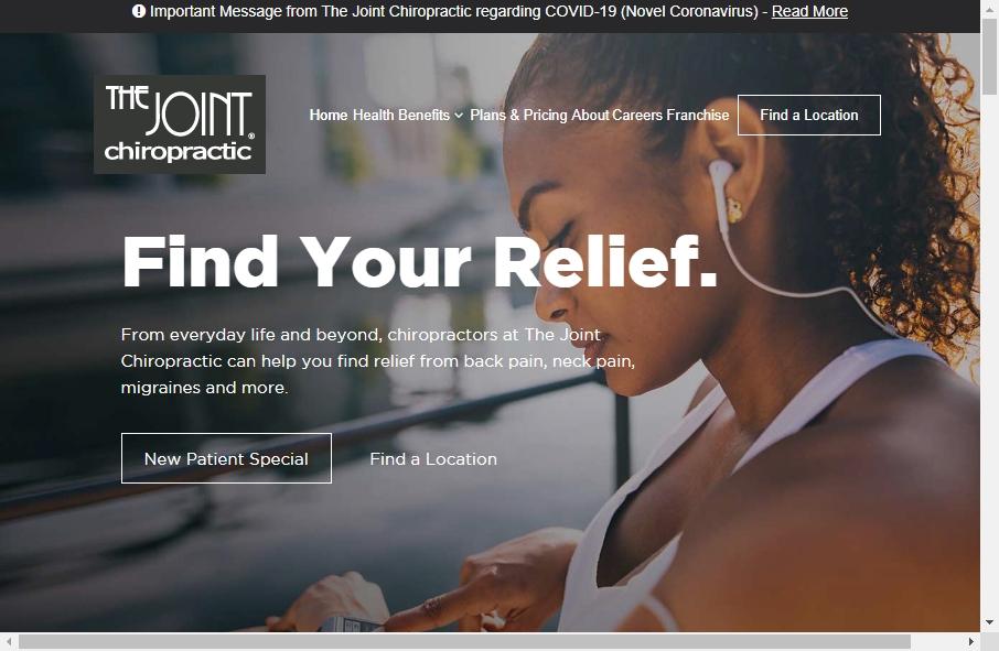 16 Great Chiropractors Website Examples 17