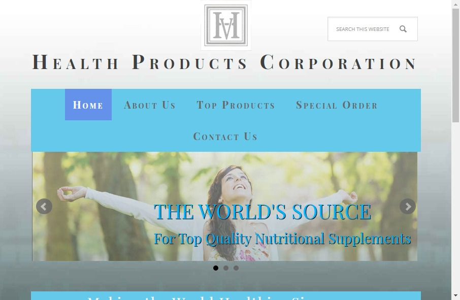Health Product Websites Examples 17