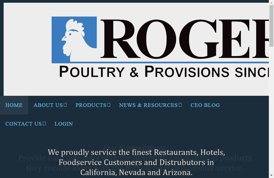 Examples of Poultry Websites With Fantastic Designs 17