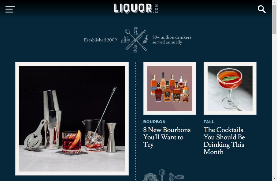 Best Liquor Website Designs Examples for 2021 17