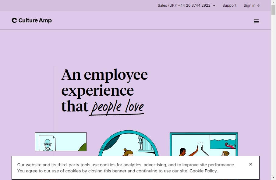 13 Culture Website Examples to Inspire Your Site 17