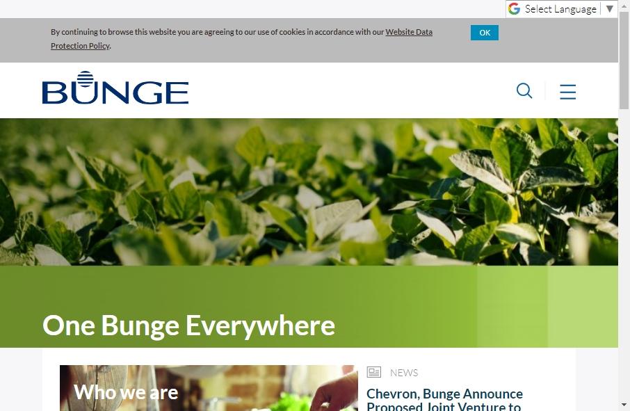 Agribusiness Website Designs 17