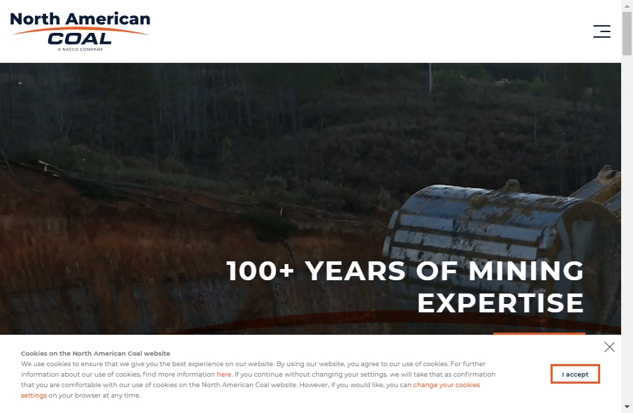 Examples of Coal Mining Websites With Fantastic Designs 17