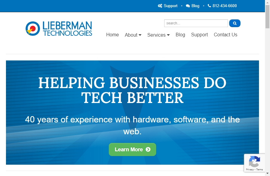 Examples of Inspirational Web service Websites 17