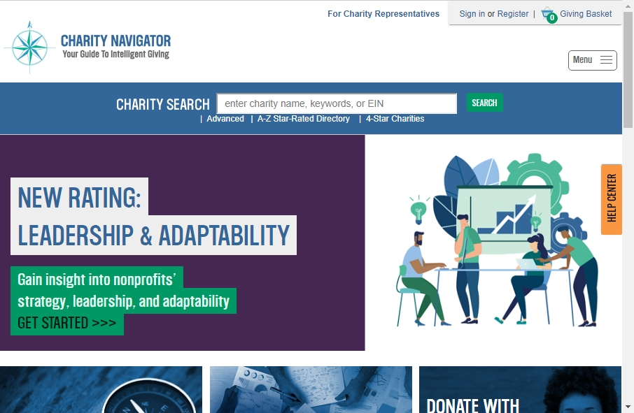 9 Examples of Non Profit Websites With Fantastic Designs 17