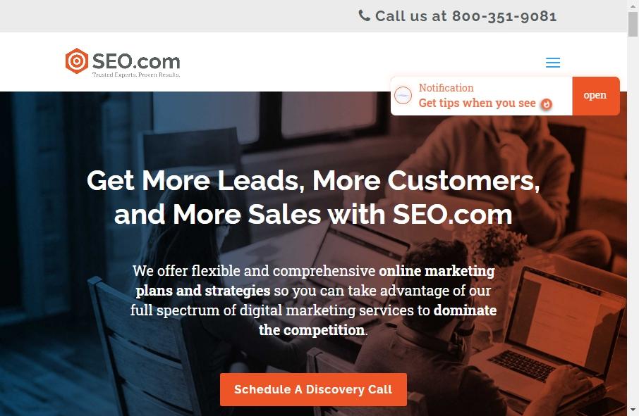 13 Amazing SEO Websites Design Examples in 2021 17
