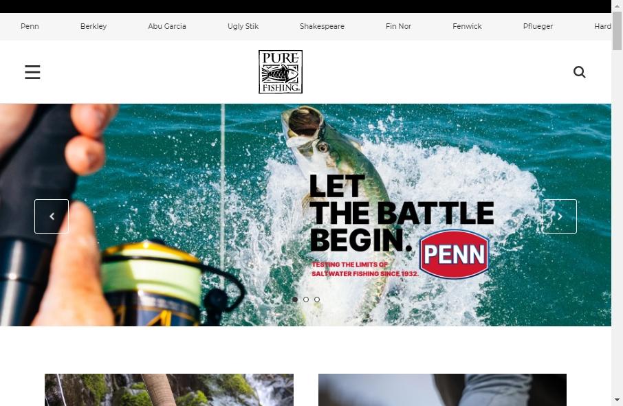13 Best Fishing Websites Design Examples for 2021 17