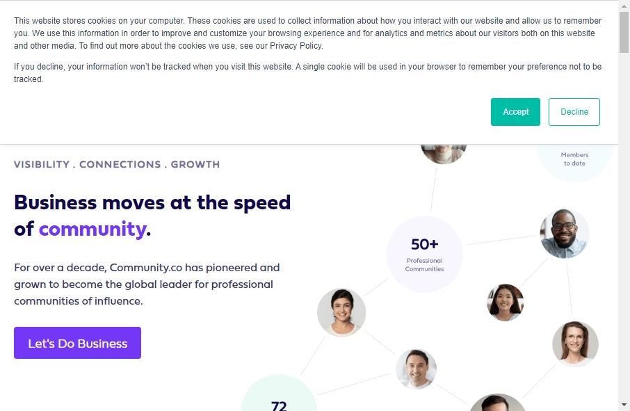 12 Great Community Website Examples 17