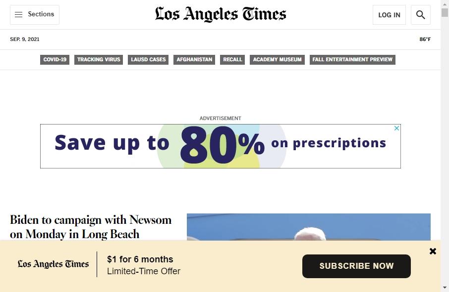 Amazing Newspaper Websites Design Examples in 2021 17
